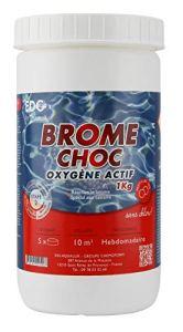 EDENEA – Oxygène Actif – Brome Choc pour Piscine et Spa – EDG – 1Kg en Pastille