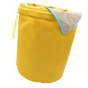 F Fityle Sacs de 5 Gallons Ice o Lator Bag pour Extraire Les Huile Sac D'extraction – Jaune-73 microns