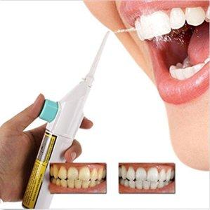 Tefamore Cordon de jet d'eau dentaire portatif à fil d'alimentation électrique Cordons à dent dentaire sans piles