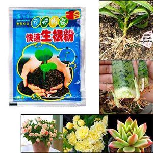 BoaCling Lot de 10 sachets de Poudre d'enracinement Rapide pour Arbres fruitiers et Fleurs