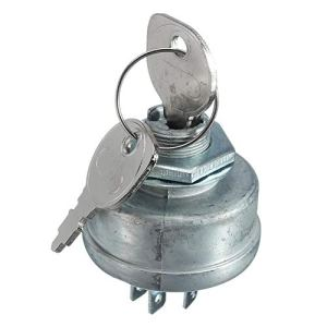 Démarreur d'allumage de tondeuse à gazon avec 5 bornes, avec clé pour Husqvarna 725-0267 725-0267A