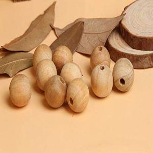 Dfhdrtjღ Cœurs en Bois de cèdre Naturel Anti-Mites pour décoration de Maison (Pas de Couleurs)