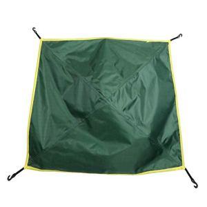 F Fityle Bâche Anti-Pluie Toile de Tente Imperméable Pliable Portable pour Camping – 81 x 81 cm – armée Verte