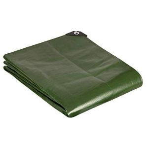 GardenMate Bâche de protection 3x4m qualité premium VERTE – résistante aux UV, imperméable et lavable