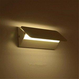 Lampe LED paroi d'aluminium de la lampe de paroi d'aluminium de l'ampoule de haut en bas