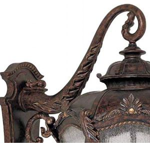 Savoy House Europe 5-3213-56 Wall Mount Lantern, Steel and Aluminum, E14, 60 W