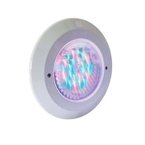 Fluidra 45620 – Point de lumière PAR56 LED RGB v2. Fixation STD. Enjoliveur INOX