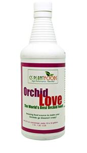 GS Plant Foods Orchid Love – La plus grande nourriture au monde à base d'orchidée (concentré net de 32 oz): Donne de 16 à 32 gallons 32 oz