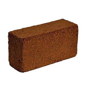 Noix de coco Coco Brique 650g–Naturel Additif au Terreau en pleine Croissance Medium pour mélange de rempotage, DE semis, WORM Parure de lit et hydroponie