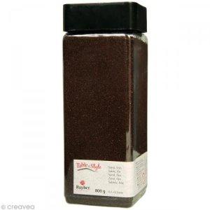 Sable décoratif fin brun moka 800 g