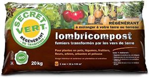 Secret Vert Terreau lombricompost régénérant 20 kg