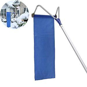 Yuii Télescopique Toit Pelle à Neige Handheld Toit Sled Neige Râteau Retrait Outil de Nettoyage en Aluminium réglable Rod 6M Lisse Tissu Oxford Portable