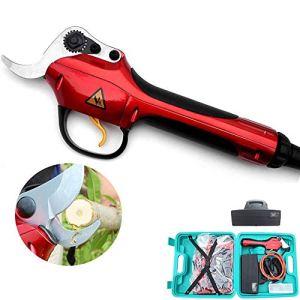 Cisailles électriques, outils de coupe professionnels de jardin, 0,35 secondes/temps, améliorent grandement l'efficacité de travail 30mm/1.2 inch,2batteries