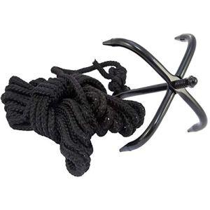 MYF Griffes de Survie Sauvages Griffes de Tigre Volantes Qui sauvent des Vies Griffes d'escalade Crochets d'escalade extérieurs Crochets de Sauvetage Crochets de retenue à Quatre mâchoires avec Corde