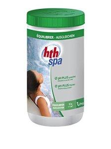 Alice's Garden – Entretien de l'eau du spa, pH PLUS HTH traitement en poudre, 1,2kg