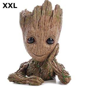 Baby Groot Pot de Fleur – Figurine pour Plantes et stylos – Parfait comme Cadeau – Je s'appelle BÉBÉ Groot