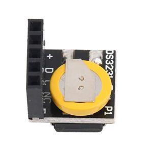 CamKpell Module d'horloge Temps réel DS3231 pour Module d'horloge Temps réel 3.3V / 5V avec Batterie pour Framboise – Noir