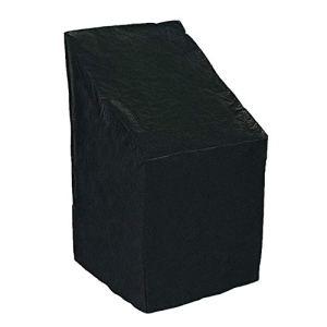 leegoal Housse de Chaise empilable imperméable en Tissu Oxford pour Chaise de Jardin inclinable, 68 x 68 x120CM