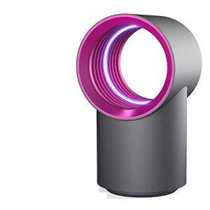 Lumière de moustique à onde lumineuse de 360 degrés, lampe de répulsif anti-moustique physique à la maison de bureau de camping en plein air physique intelligente de photocatalyseur-blue