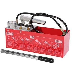 Pompe d'épreuve, Testeur de Fuite de Tuyau Pompe à Epreuve de Pression d'eau Pompe Manuelle Testeur de Pression 50 Bars 12L