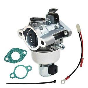 Coupe de Carburateur pour Kohler Courage SV530 17hp / SV540 18hp / SV590 19hp / SV620 22hp avec 2 Joints 1 Connecteur de Fil