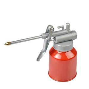 Hangarone Long Mouth Oiler, Machine Oil Pot High-Pressure Machine Oil Can Plastic Plastic Resistant to Copper Tip Nozzle Oiler 350ML