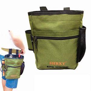 shrxy Garden Metal Detecting Finds Sac Détecteur de Poche Outils de Digger multi-usages sac sac taille (vert)