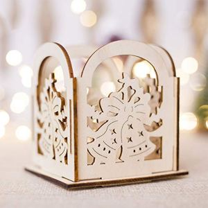SHUNYUS Chandelier Magnifique Mini Chandelier de Noël en Bois