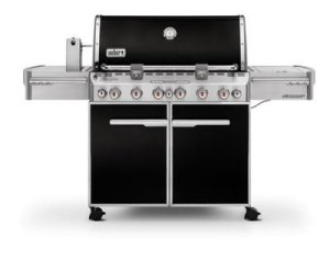 Weber Summit E-670 Barbecue à gaz Noir