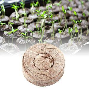wonderday 20 comprimés de gonflement d'origine Tourbe Pots de gonflement 35-50 mm Culture du Sol des semences comprimés de Tourbe du Sol pour Le Jardinage intérieur