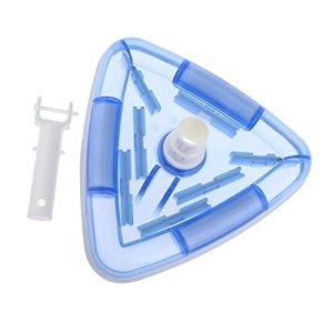 B Baosity Tête D'aspirateur Triangulaire pour Piscine. Pondéré pour Une Facilité D'utilisation. Tête Vac