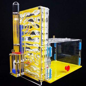 Baugger Bricolage Nid – Bricolage T-Design Zone D'alimentation Acrylique Ferme Insecte Villa Animaux Mania Maison Nid De Ant