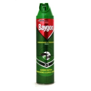 BAYGON SPRAY ML.400 SCARAFAGGI E FORMICHE