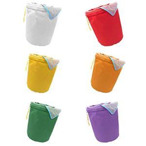 Fenteer 6pcs Sacs de 5 Gallons Ice o Lator Bag pour Extraire Les Huile Sac d'extraction