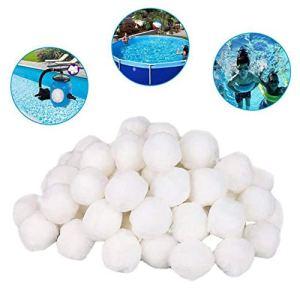 FJROnline Filtre à Eau pour Bassin 200 g/500 g/700 g, Blanc, 700 g