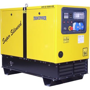 Groupe électrogène triphasé diesel 9.2 kW FRANCEPOWER