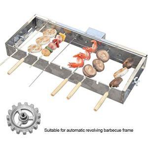julyso Les Accessoires de Barbecue à Engrenages rotatifs automatiques installent Un engrenage de Remplacement Rotatif Automatique de Bricolage Durable