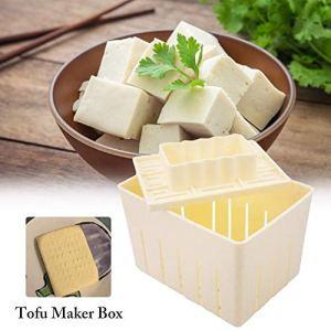 Kit De Moulage pour Machine À Tofu, Moule À Tofu en Plastique, Bricolage Fabrication Artisanale Tofu Press Maker Cuisine Outils Pratiques