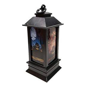 Laile Lampe, Éclairage Mural, Lumière Solaire Extérieur, Lumières D'ambiance Extérieure Halloween Lanterne Solaire Exterieur Lampe Solaire de Jardin Exterieur Suspendue [Classe énergétique A++]