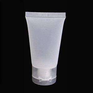LNIMIKIY Bouteille de Lotion de Voyage Portable et Vide pour crèmes cosmétiques 30 ML Blanc, Pas de zéro, Blanc, 30 ML