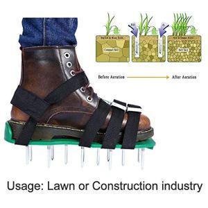 NOWAYTOSTART – Aérateur de pelouse – Aérateur de pelouse – Aérateur de Gazon – Aérateur de Gazon Vertical – Aérateur de pelouse – Aération de pelouse Vert