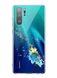 Oihxse Mode Transparent Silicone Case Compatible pour OnePlus 6 Coque, Ultra Mince Souple TPU Mignon Animal Série Protection de Housse Anti-Scrach Bumper Etui -Petit Prince