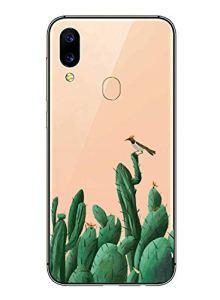 Oihxse Mode Transparent Silicone Case Compatible pour Xiaomi Redmi Note 4X/Note 4 Coque, Ultra Mince Souple TPU Mignon Animal Série Protection de Housse Anti-Scrach Bumper Etui -Oiseau