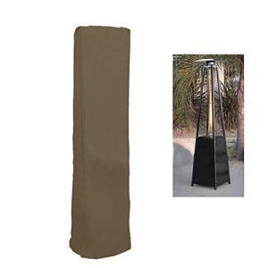 QEES JJJZ23 Housse de chauffage de terrasse imperméable pour terrasse pyramide 2,2 m
