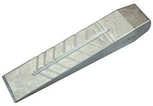 Stubai 673255 Coin à fendre en aluminium, Argent, 265 x 55 mm