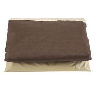 Suchinm Housse de Meuble étanche, Protection de Housse de canapé de Chaise de Meuble étanche à la poussière pour Patio de Jardin extérieur(96,5 * 89 * 79 cm)