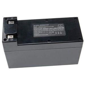 vhbw Batterie Compatible avec Wiper Runner L-XH, Runner L-XK, Runner X, Runner X-C2, Runner XE, Runner Xk Tondeuse à Gazon (10200mAh, 25.2V, Li-ION)