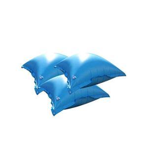 well2wellness Coussins gonflables / Coussins flotteurs d'hivernage pour piscine – 3 coussins avec valve transparente