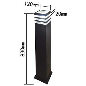 XINRISHENG 48PCS / LOT La Lampe 110V 220V 7W de Lampe de pelouse en Aluminium à LED pour éclairage extérieur étanche