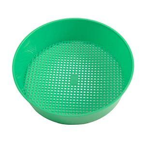 YUOKI99 Tamis à Compost Multi-Usage Robuste pour Jardin 20,8 x 18,4 x 5,3 cm Vert, Pas de zéro, Vert, 20.8×18.4×5.3cm